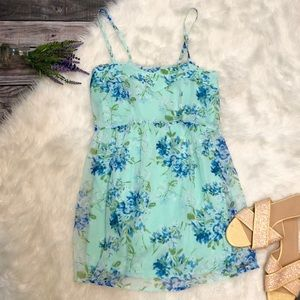 NEW Abercrombie & Fitch Mint Floral Sundress